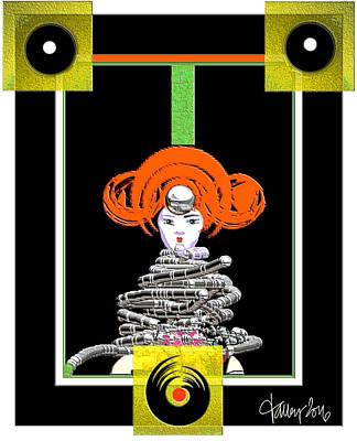 Cosmic Geisha - Close Encounter Poster