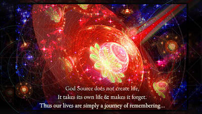 Cosmic Inspiration God Source 2 Poster
