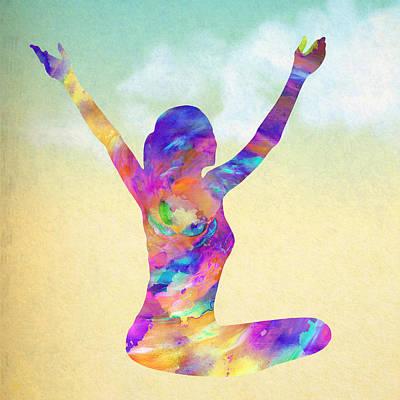 Cosmic Meditation - Texture Poster