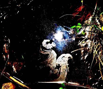 Cosmic Ponderment Poster by SeVen Sumet