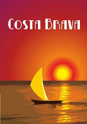 Costa Brava  Poster by Joaquin Abella
