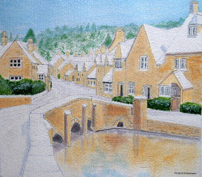 Cotswold Winter - Castle Combe Poster