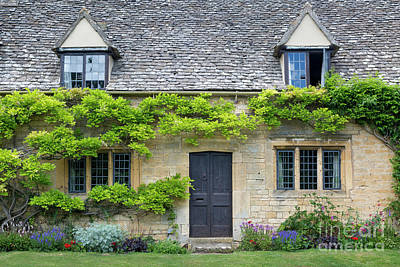 Poster featuring the photograph Cotswolds Cottage Home II by Brian Jannsen