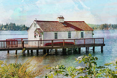 Cottage With A View Poster