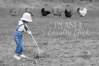 Country Chick Poster by Lori Deiter