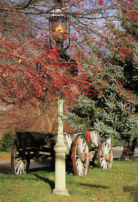 Country Christmas Poster by Donna Kennedy