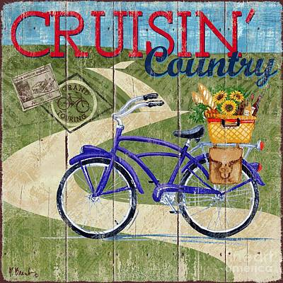 Country Cruisers II Poster by Paul Brent