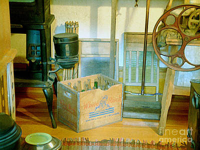 Poster featuring the painting Country Kitchen Sunshine II by RC deWinter