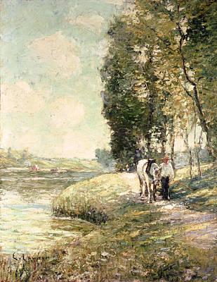 Country Road To Spuyten Poster by Ernest Lawson