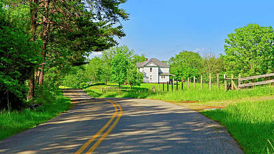 Country Roads Of America, Smith Mountain Lake, Va. Poster