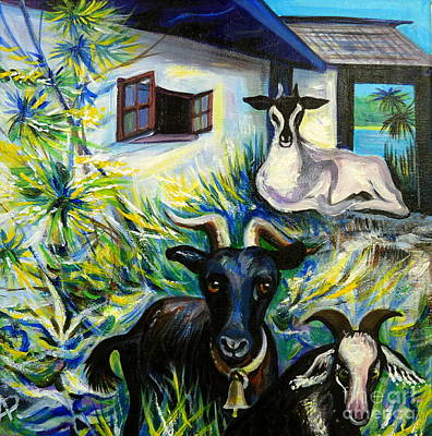 Countryside Of Jamaica Poster by Anna  Duyunova