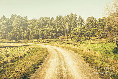 Countryside Road In Outback Australia Poster by Jorgo Photography - Wall Art Gallery