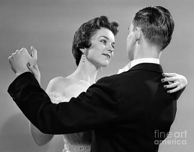 Couple Dancing, C.1950s Poster by Debrocke/ClassicStock