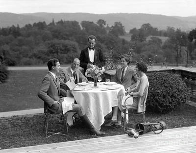 Couples At The Country Club, C.1920-30s Poster by H. Armstrong Roberts/ClassicStock