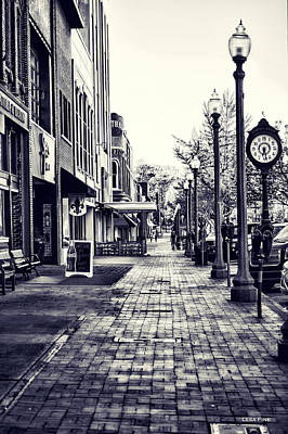 Court Street Clock Florence Alabama Poster
