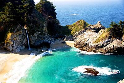 Cove And Mcway Falls Poster
