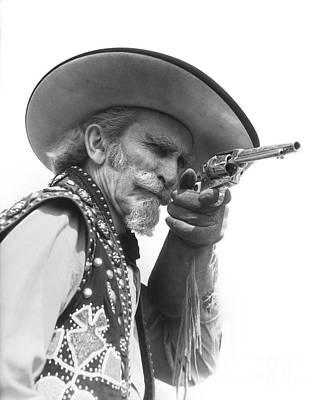 Cowboy Aiming A Gun, C.1930s Poster