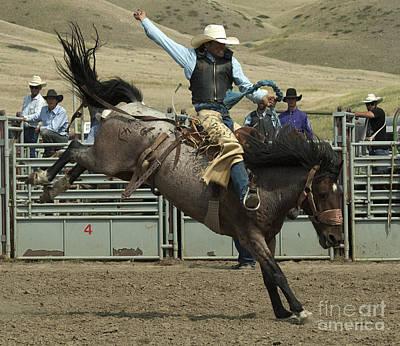 Cowboy Art 9 Poster by Bob Christopher