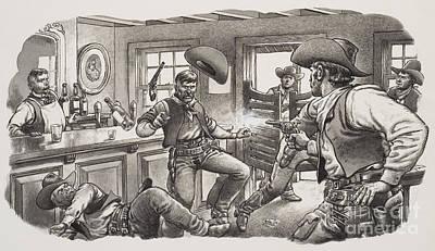 Cowboys Of Oregon  Poster