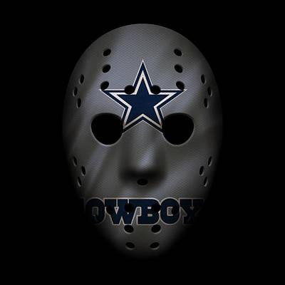 Cowboys War Mask 2 Poster by Joe Hamilton