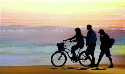 Cox Bay Bike Poster