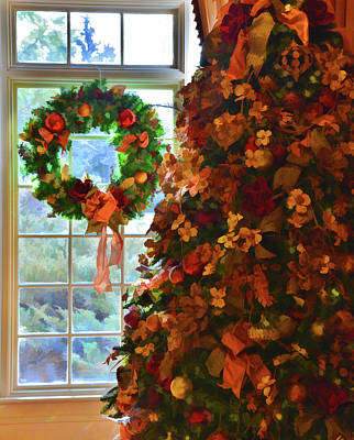 Poster featuring the photograph Cozy Christmas by Diane Alexander