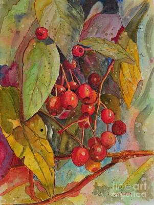 Crab Apples I Poster