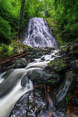 Crabtree Falls North Carolina Poster