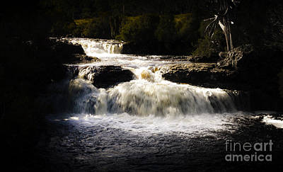 Cradle Mountain Waterfall In Picturesque Tasmania Poster by Jorgo Photography - Wall Art Gallery