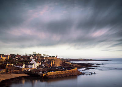 Crail Harbour Poster by Dave Bowman