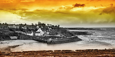 Crail Harbour Poster by Jeremy Lavender Photography