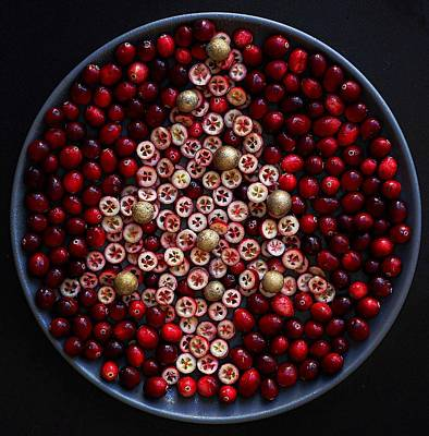 Cranberry Christmas Tree Poster