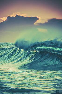 Crashing Wave Poster by Az Jackson