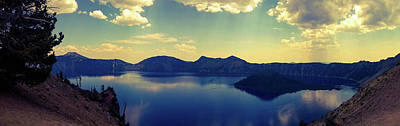 Poster featuring the photograph Crater Lake 2 by Pacific Northwest Imagery