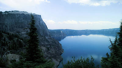Poster featuring the photograph Crater Lake 3 by Pacific Northwest Imagery