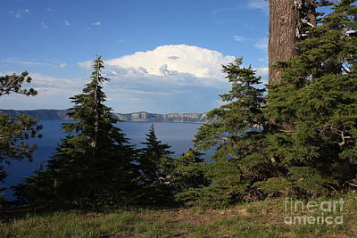 Crater Lake 8 Poster by Carol Groenen