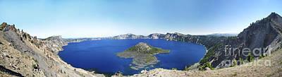 Crater Lake Panoramic Poster