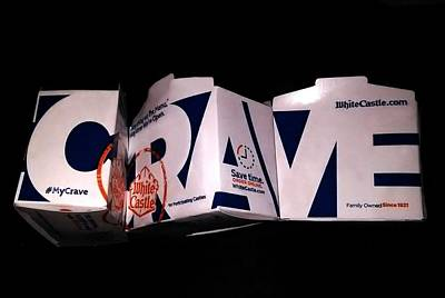 Crave Poster by Bruce Lennon