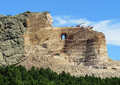 Crazy Horse Monument Poster by Dawn Key