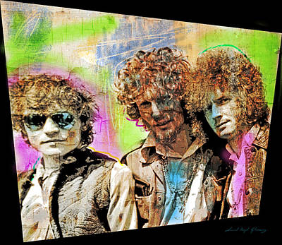 Cream Poster by David Lloyd Glover