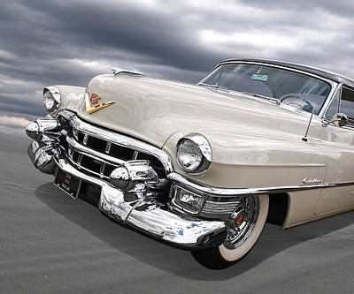 Cream Of The Crop - '53 Cadillac Poster