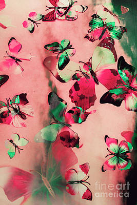 Creative Butterfly Background Poster