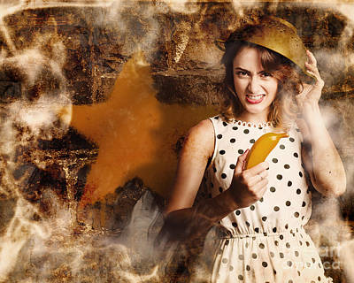 Creative Cooking Pin-up Poster by Jorgo Photography - Wall Art Gallery