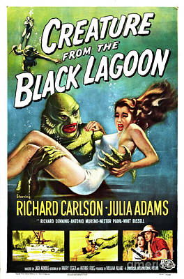 Creature Of The Black Lagoon Poster