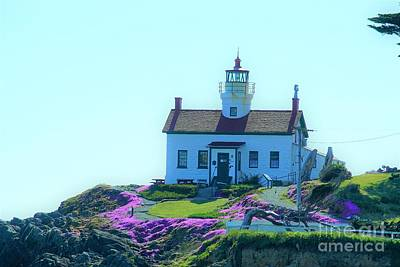 Crescent City Lighthouse Poster