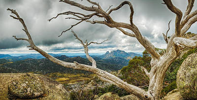 Cresta Valley - Mt Buffalo Poster by Mark Lucey