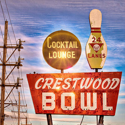 Crestwood Bowl Poster by Robert  FERD Frank