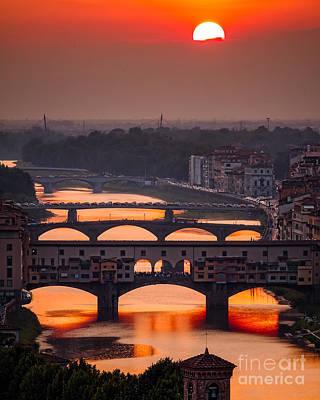 Crimson River Poster