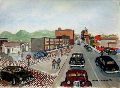 Crispy Creme And Hamburger Inn Eighth And Gallia 1948 Poster