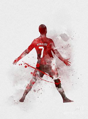 Cristiano Ronaldo United Poster